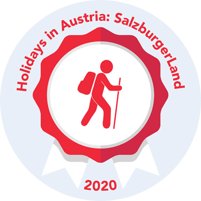 Completed the Walk 100 miles SalzburgerLand challenge