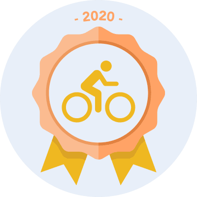 Completed the #bike2020 500 miles challenge