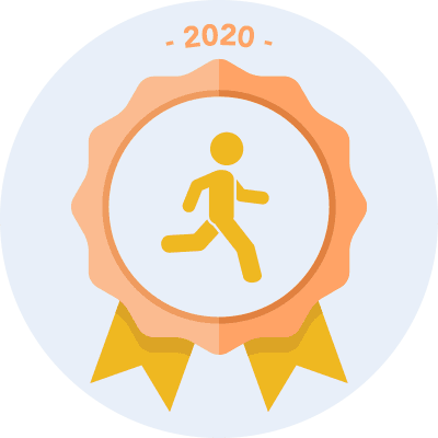 Completed the #run2020 500 miles challenge