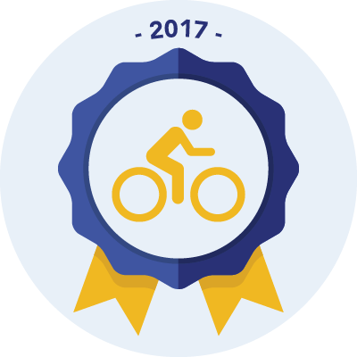 Completed the #bike2017 750 miles challenge