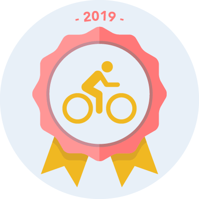 Completed the #bike2019 500 miles challenge
