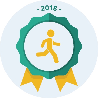 Completed the #run2018 250 miles challenge