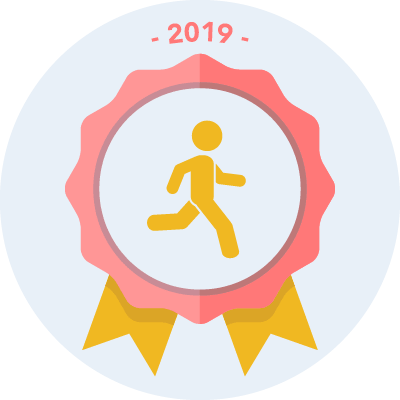 Completed the #run2019 250 miles challenge
