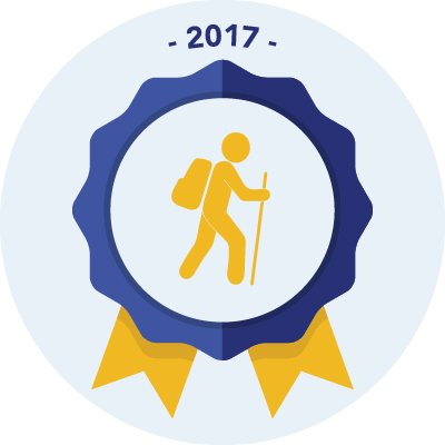 Completed the #walk2017 250 miles challenge