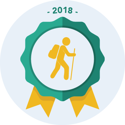 Completed the #walk2018 1500 miles challenge