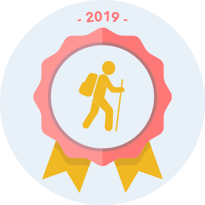 Completed the #walk2019 1000 miles challenge
